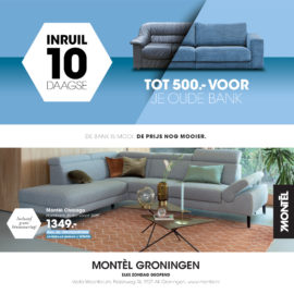 Montèl Inruil 10-daagse | Ruil je oude bank in!