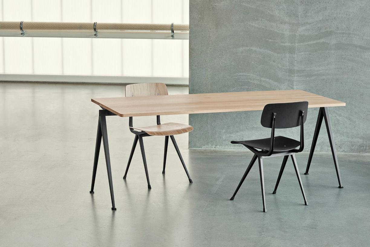 Hay Result Stoel : News result chair and pyramid table reissued kabk